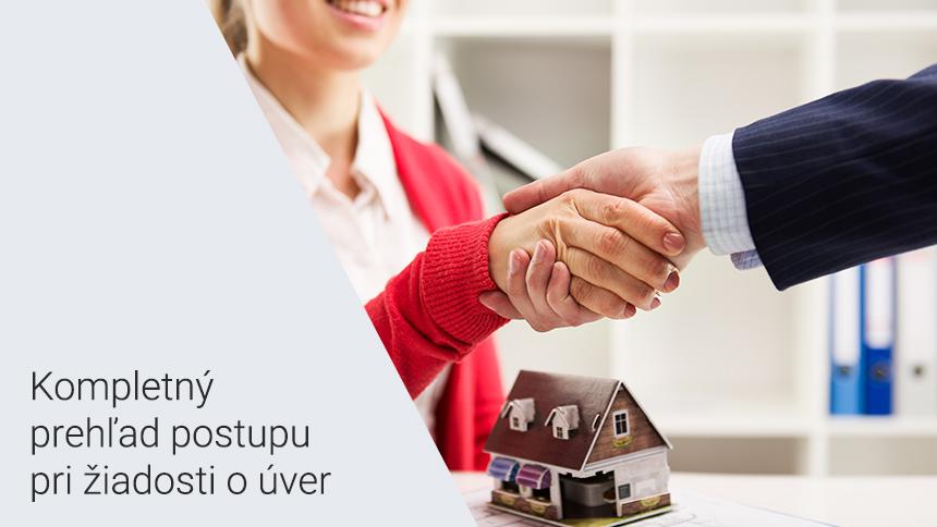 Aké sú kroky pri vybavovaní hypotéky?